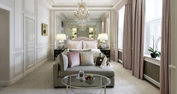 Sleep like a queen at Hotel Sacher in one of their stately appointed rooms.